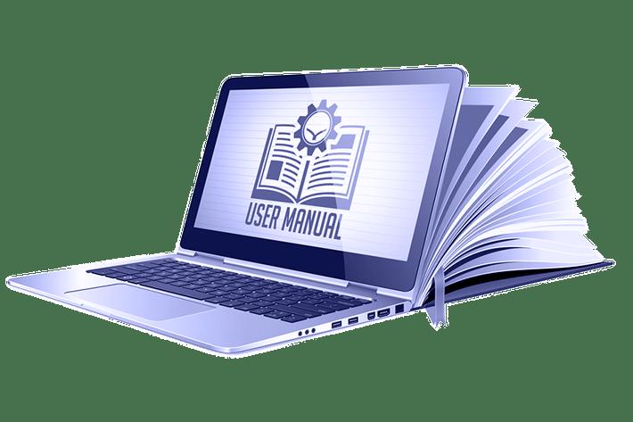 Product Manuals Designing