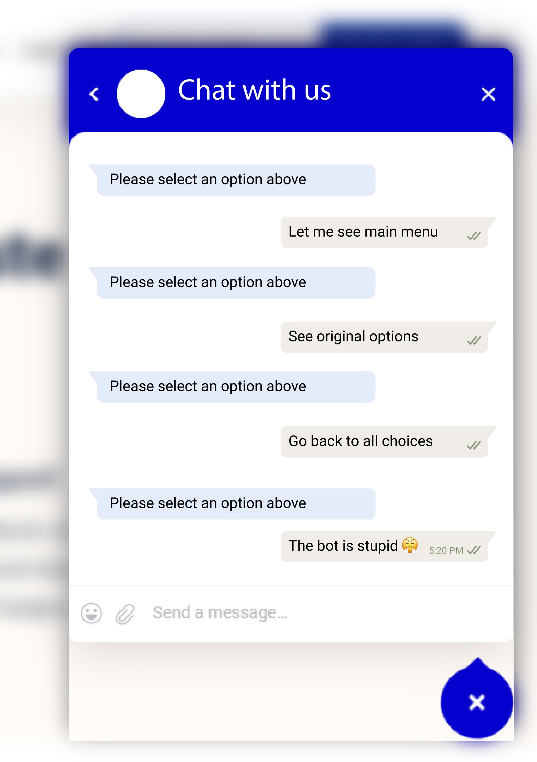 Chatbot Automated Response