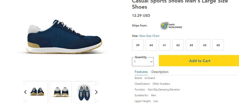 ecommerce Product Page Images